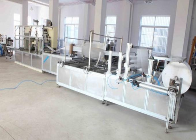 Nonwoven Bed Sheet Cutting Machine , Full Automatic Fabric Folding Machine