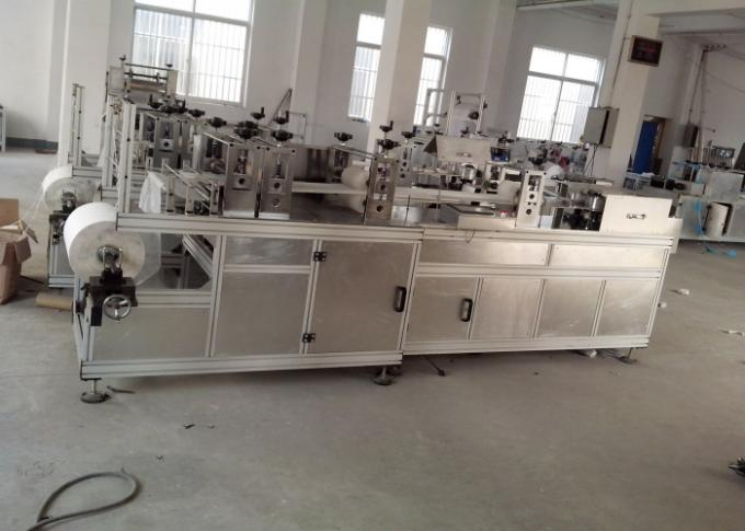 Disposable Non Woven Cap Machine 6.5kw For Hospital Factory 800 kg AC380V