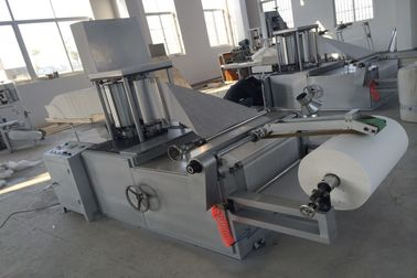 China Cutting Sheet Folding Machine , 5kw 4.2m Nonwoven Fabric Folding Machine supplier