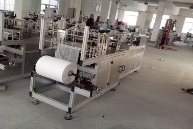 China Disposable Non Woven Cap Machine 6.5kw For Hospital Factory 800 kg AC380V supplier
