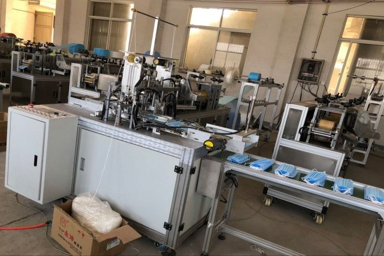 Mask Making Earloop Fully Non Woven Machine Face Automatic