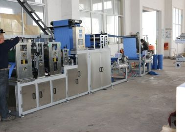 China Full Automatic Non Woven Cloth Making Machine With Effective Motor Industrial distributor