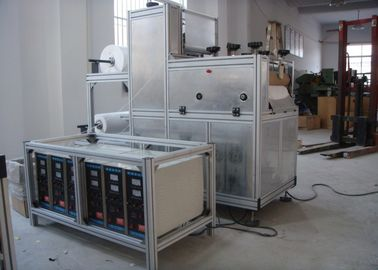 China 8.5kw Disposable Sleeve Cover Making Machine Nonwoven With High Speed Full Automatic factory
