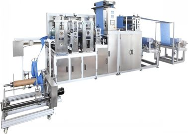 China Biodegradable Non Woven Cloth Making Machine 10.5KW Ultrasonic PLC Control distributor