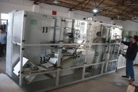 Nonwoven SMS SMMS Sheet Cutting Machine , 8.5KW Cutting Bed Sheet Folding Machine